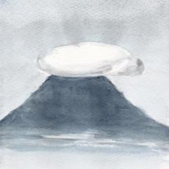 飯野山の帽子