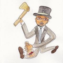 銀蔵さんの金の斧賞 アタッタアタッタ