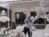 塚越さん雪2