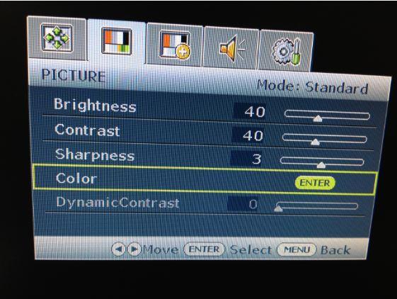カット ライト 設定 ブルー パソコン