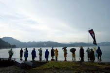 命の行進2011被災地にて01