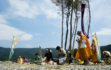 命の行進2011被災地にて02