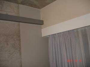 寝室の壁面にベルアート施工