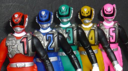 プレイヒーローDX 特捜戦隊デカレンジャー5セット スワットモード