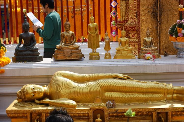 Sleepin' Buddha