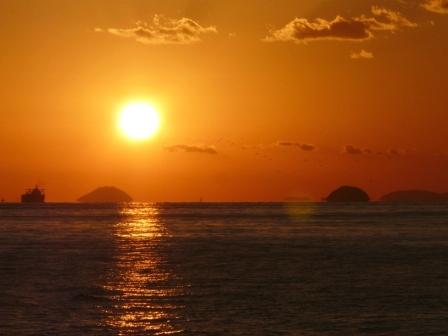 立岩海岸 夕景 7