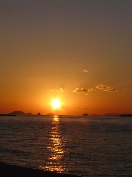 立岩海岸 夕景 8