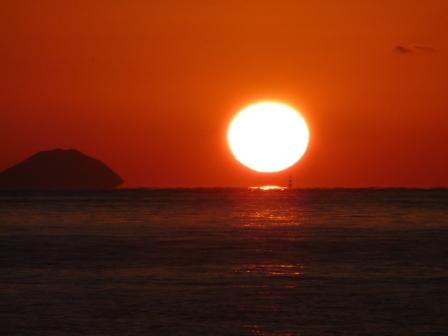 立岩海岸 夕景 11