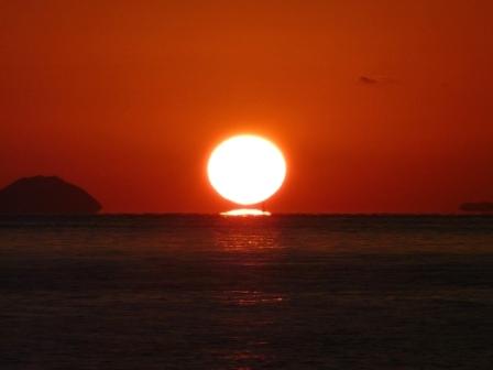 立岩海岸 夕景 12