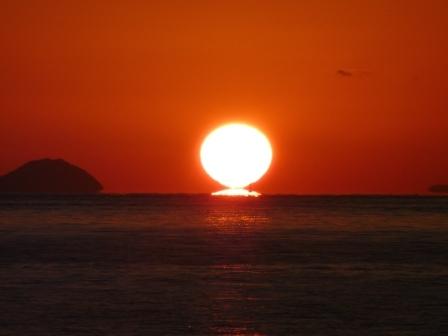 立岩海岸 夕景 13