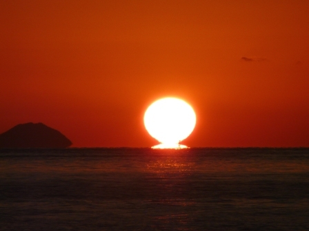 立岩海岸 夕景 14