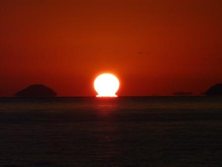 立岩海岸 夕景 15