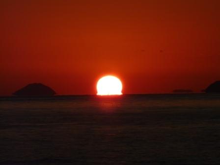 立岩海岸 夕景 16