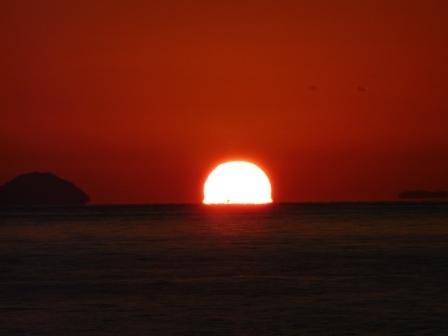立岩海岸 夕景 17