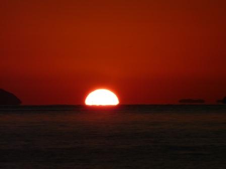 立岩海岸 夕景 18