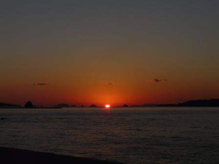 立岩海岸 夕景 19