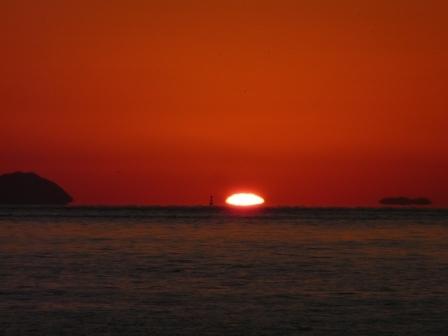 立岩海岸 夕景 20
