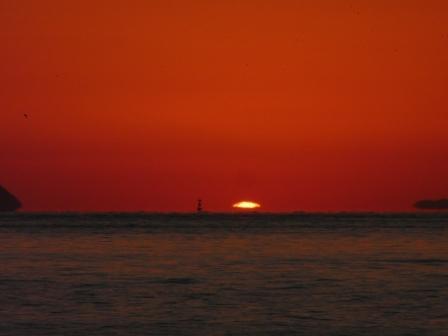 立岩海岸 夕景 21