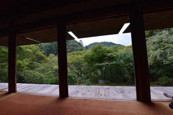 石水院からの景色