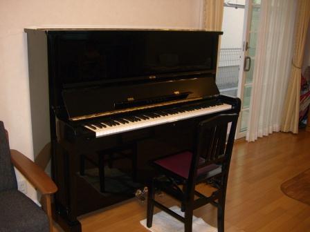 ピアノが届いた!④