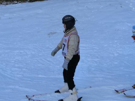 スキーに行きました まだへっぴり腰ですが…