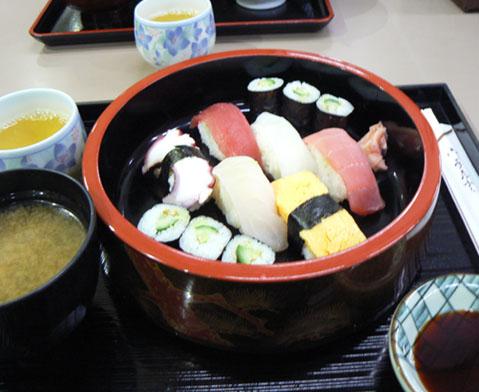 ワカナの寿司