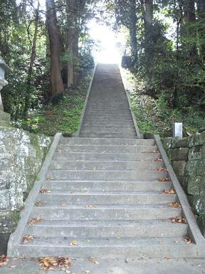 莫越山神社★階段