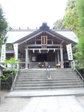 天津神明宮★拝殿