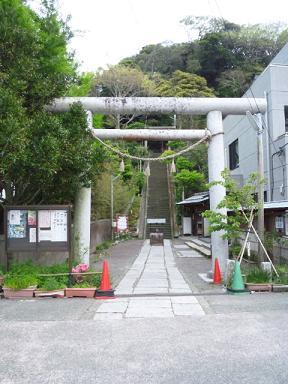 遠見岬神社★鳥居