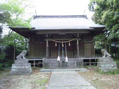 遠見岬神社★拝殿