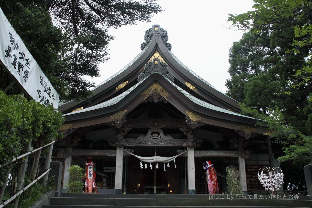 太平山三吉神社 - けんか梵天祭りの勝利の神様を祀る神社 〈秋田県秋田市〉 行って見たい神社とお寺