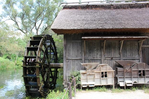 大王わさび農園:水車小屋2