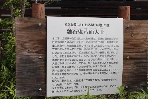 大王わさび農園:魏石鬼八面大王