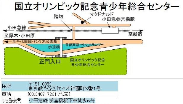 オリンピック地図