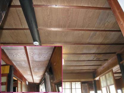 【施工事例vol.65】施工前:和室・廊下の天井改修工事