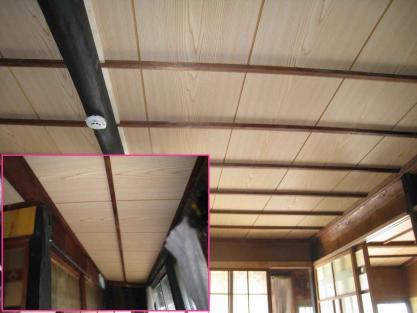 【施工事例vol.65】施工後:和室・廊下の天井改修工事