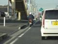 お巡りさんのバイク?