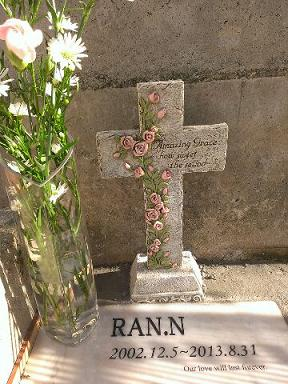 ランのお墓2