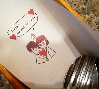s-バレンタインカトラリィー