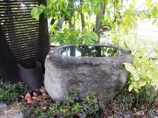 s-手水鉢