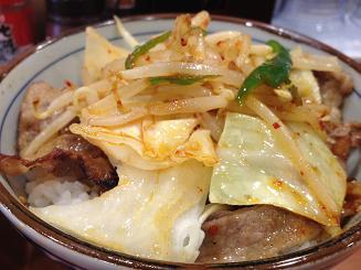 野菜焼き牛丼2