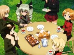 43273521 anchovy assam calendar darjeeling girls_und_panzer itou_takeshi itsumi_erika katyusha nishizumi_maho nonna orange_pekoe uniform