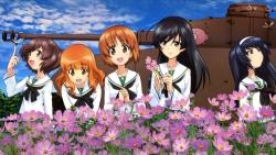 169275514 akiyama_yukari girls_und_panzer isuzu_hana nishizumi_miho reizei_mako seifuku takebe_saori