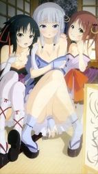 i274198 cleavage iino_makoto irori kimono komurasaki machine-doll_wa_kizutsukanai no_bra pantsu undressing yaya yukata