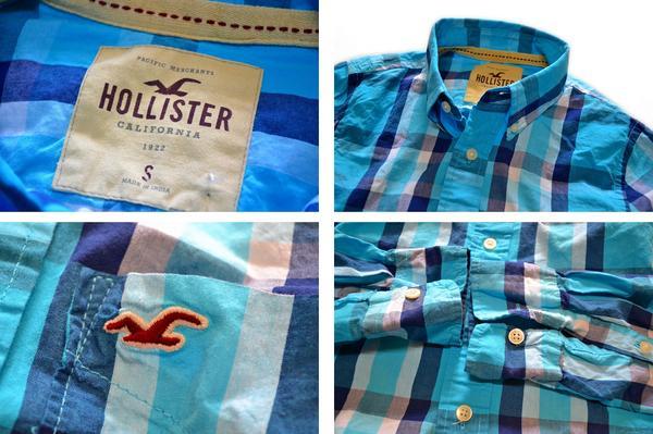 ホリスター長袖シャツ画像06