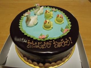 とりっこケーキ