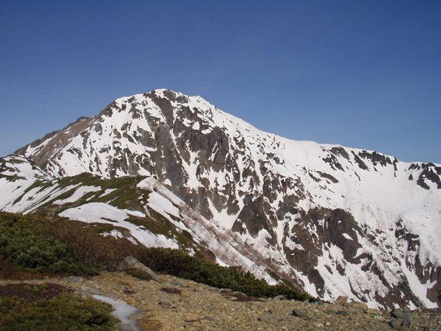 南アルプス-北岳(夜叉神・池山吊尾根)H16・5・1~5・3③ 022
