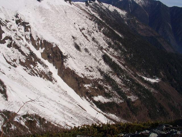 南アルプス-北岳(夜叉神・池山吊尾根)H16・5・1~5・3③ 036