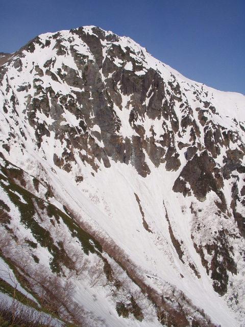 南アルプス-北岳(夜叉神・池山吊尾根)H16・5・1~5・3③ 035