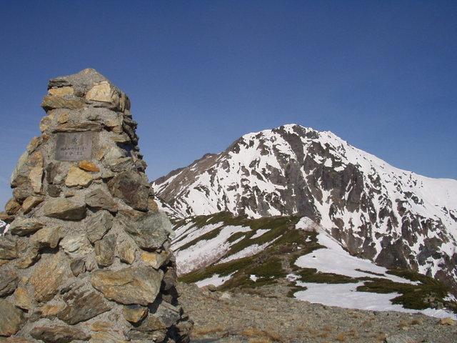 南アルプス-北岳(夜叉神・池山吊尾根)H16・5・1~5・3③ 030